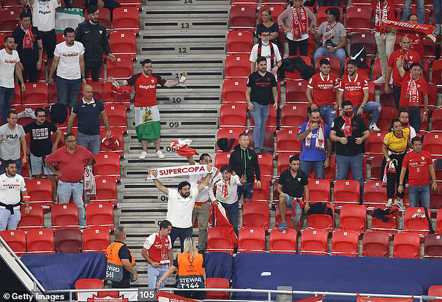 UEFA đồng ý để khán giả vào sân tại cúp châu Âu, nhưng với 1 điều kiện - Ảnh 1.