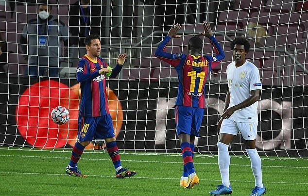Barcelona 5-1 Ferencvaros: Cơn mưa bàn thắng - Ảnh 3.