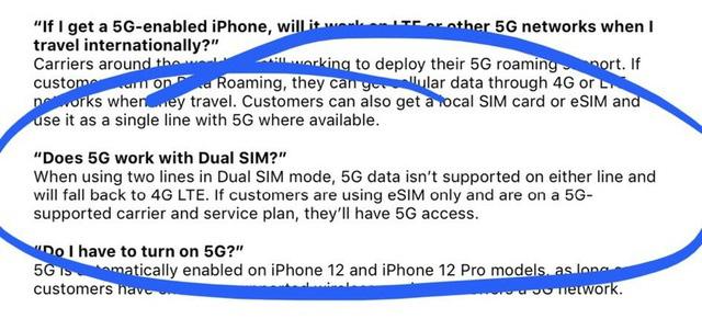 iPhone 12 không hỗ trợ 5G nếu dùng 2 SIM - Ảnh 1.