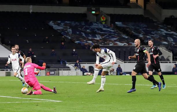 Kết quả Europa League sáng 23/10: Tottenham, Arsenal, Leicester cùng thắng - Ảnh 3.
