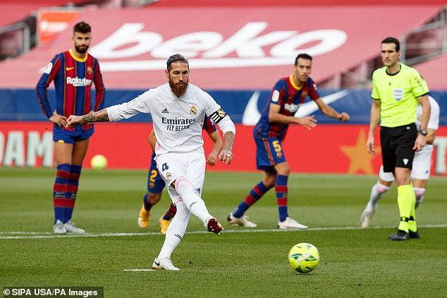 Barcelona 1-3 Real Madrid: El Clasico đầy kịch tính (Vòng 7 La Liga 2020/21) - Ảnh 4.
