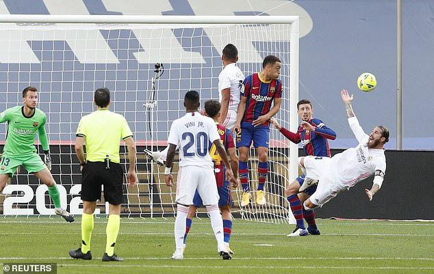 Barcelona 1-3 Real Madrid: El Clasico đầy kịch tính (Vòng 7 La Liga 2020/21) - Ảnh 3.