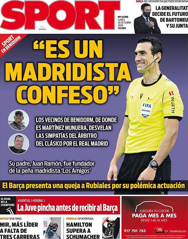 Barcelona tiếp tục phàn nàn về trận El Clasico - Ảnh 1.