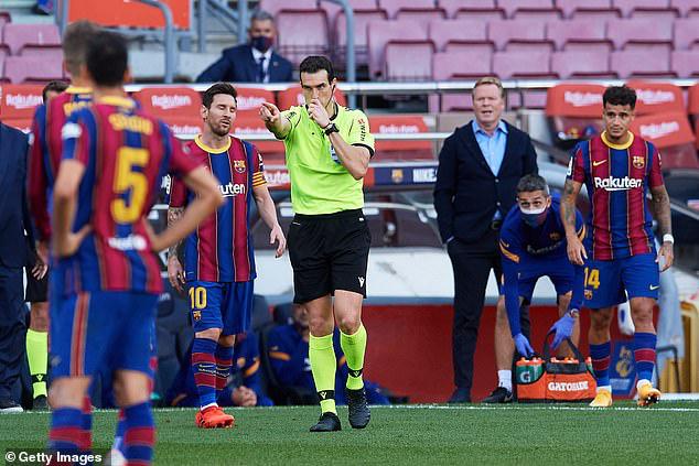 Barcelona tiếp tục phàn nàn về trận El Clasico - Ảnh 2.