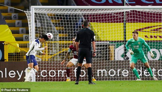 Burnley 0-1 Tottenham: Chiến thắng nhọc nhằn cho đội khách (Vòng 6 Ngoại hạng Anh 2020/21) - Ảnh 3.