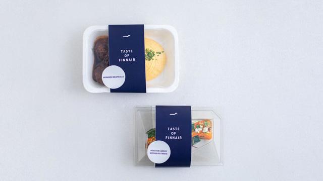 Hãng hàng không Finnair bán đồ ăn hạng thương gia trong siêu thị - Ảnh 1.