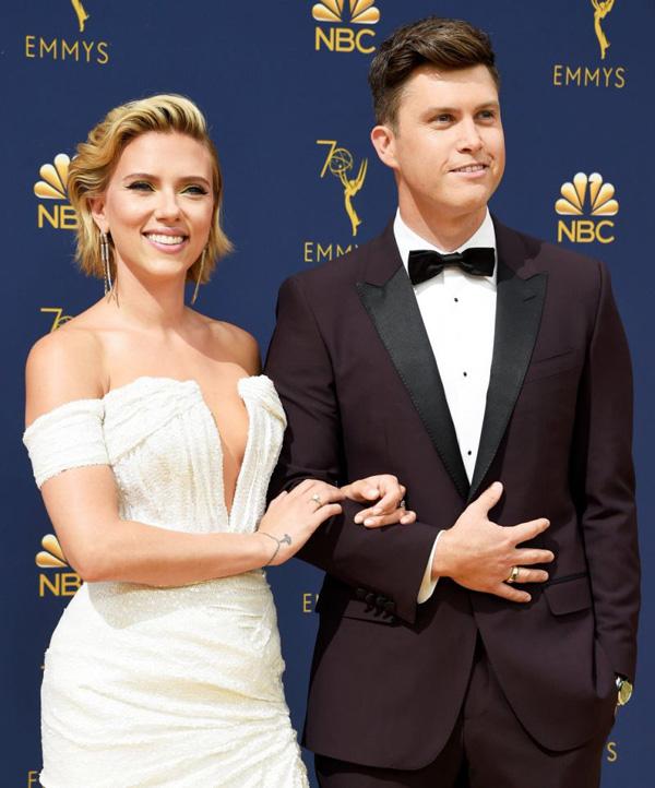 Góa phụ đen Scarlett Johansson bí mật làm đám cưới lần 3 - Ảnh 1.