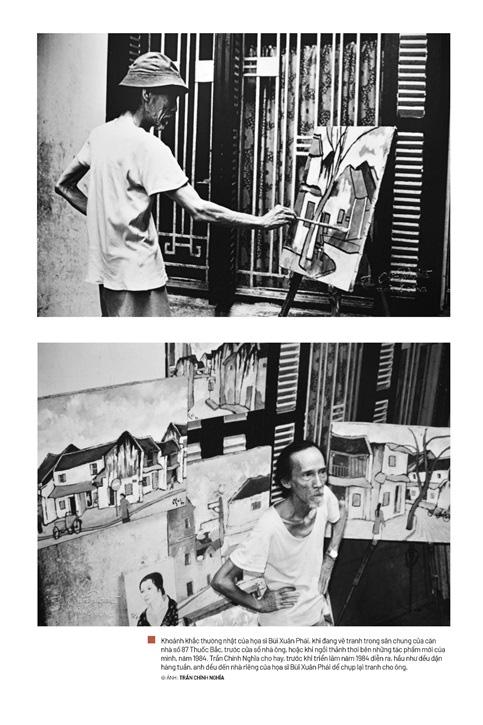 Một phần bộ ảnh cuộc đời Bùi Xuân Phái được công bố - Ảnh 1.