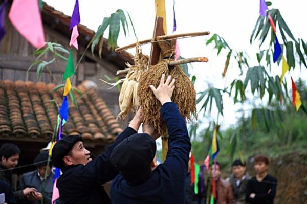 Độc đáo lễ hội Gầu Tào của đồng bào H'Mông ở Hà Giang - ảnh 3