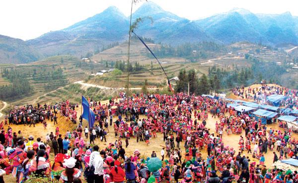 Độc đáo lễ hội Gầu Tào của đồng bào H'Mông ở Hà Giang - ảnh 2