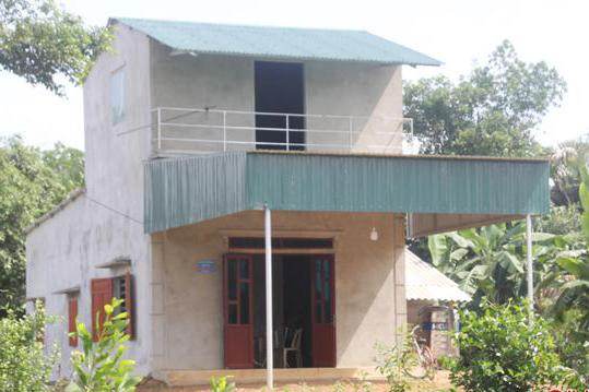 Quỹ Tấm lòng Việt bàn giao nhà chống thiên tai cho người nghèo tại Hà Tĩnh - Ảnh 2.