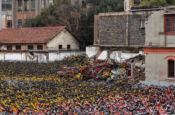 """""""Nghĩa địa xe đạp tại Trung Quốc - Ảnh 2."""