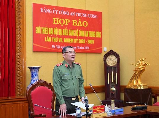 Đại hội đại biểu Đảng bộ Công an Trung ương được tổ chức từ ngày 11-13/10 - ảnh 2