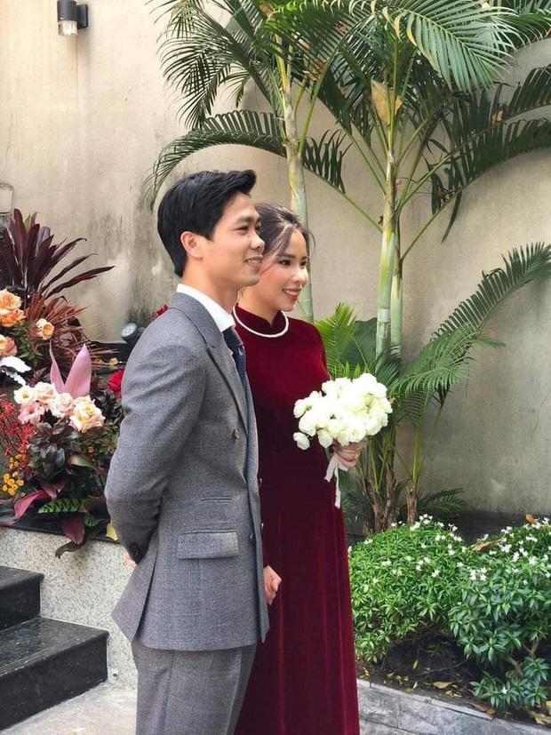 Công Phượng - Viên Minh chính thức lộ diện trong đám cưới - Ảnh 1.