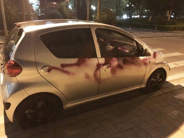Khởi tố nhóm bảo vệ chung cư xịt sơn hàng loạt ô tô trong khu đô thị ở Hà Đông - ảnh 1