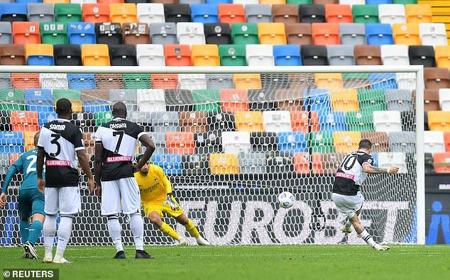 Udinese 1-2 AC Milan: Ibrahimovic lập siêu phẩm, Milan vững ngôi đầu - Ảnh 3.