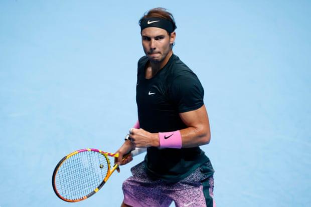 Gục ngã trước Medvedev, Nadal dừng bước tại bán kết ATP Finals 2020 - Ảnh 3.