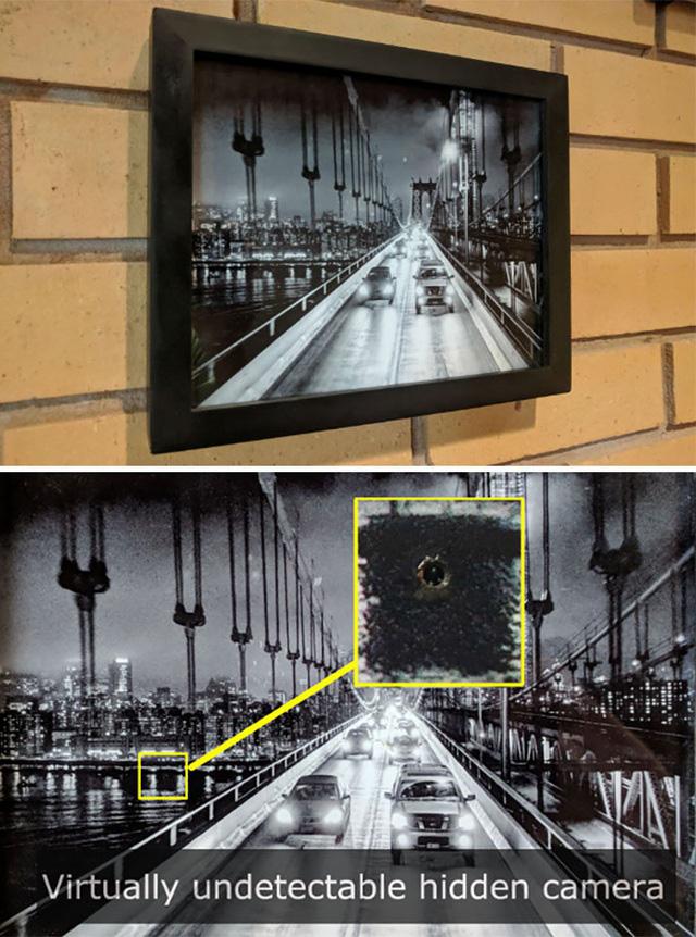 Sốc với những kiểu ngụy trang camera trong nhà nghỉ, khách sạn để quay lén - ảnh 3