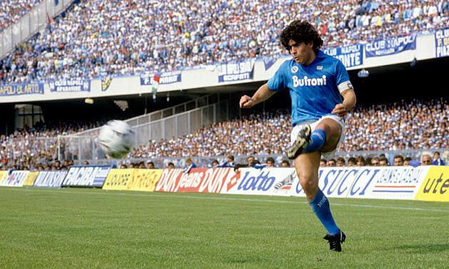 Napoli đổi tên sân để tưởng nhớ Maradona - Ảnh 2.