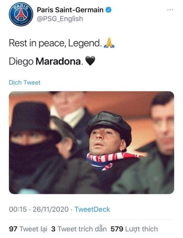 Các ngôi sao thế giới tiếc thương huyền thoại Maradona - Ảnh 5.