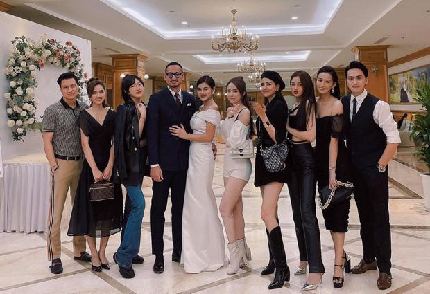 MC Thu Hoài tổ chức tiệc mời cưới như giải golf hội tụ dàn mỹ nhân đình đám - Ảnh 1.