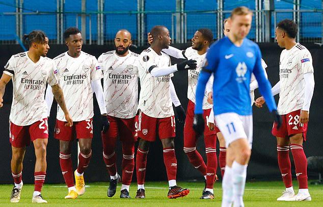 Kết quả UEFA Europa League sáng 27/11: 4 đội bóng sớm vượt qua vòng bảng - Ảnh 1.