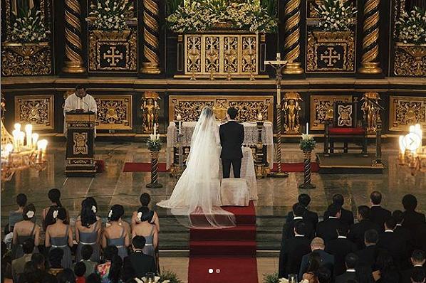 Kỷ niệm 8 năm ngày cưới, Tăng Thanh Hà khoe ảnh cưới đẹp lung linh - Ảnh 1.
