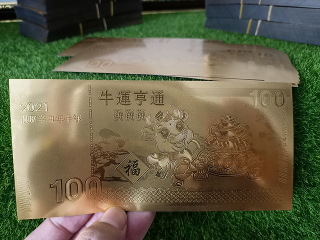 Mong cả năm may mắn,thượng đế đổ xô đi săn lùng tiền xu hình trâu - Ảnh 3.