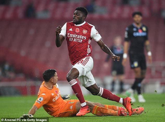 Arsenal đón tin vui về chấn thương của Thomas Partey - Ảnh 1.