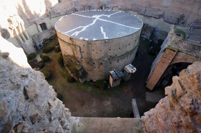 """Lăng mộ hoàng đế Rome đầu tiên được """"hồi sinh"""" - ảnh 2"""