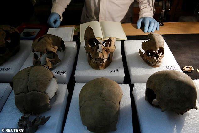 Bí mật rợn người ở tháp đầu lâu Aztec tại Mexico - ảnh 4