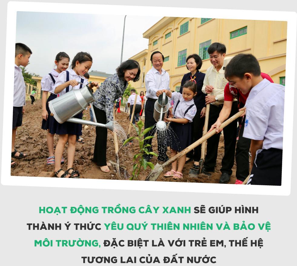 """""""Triệu cây vươn cao cho Việt Nam xanh"""" - Dấu ấn 9 năm tô màu xanh đất nước - Ảnh 5."""