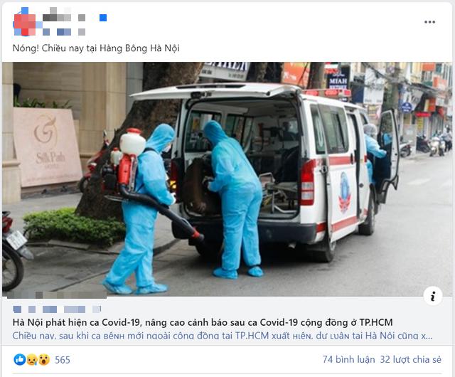 Bệnh nhân COVID-19 mới ở Hà Nội liệu có nguy cơ lây lan ra cộng đồng? - Ảnh 2.