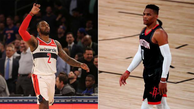 Houston Rockets chia tay với cựu Cầu thủ xuất sắc nhất NBA - Ảnh 1.