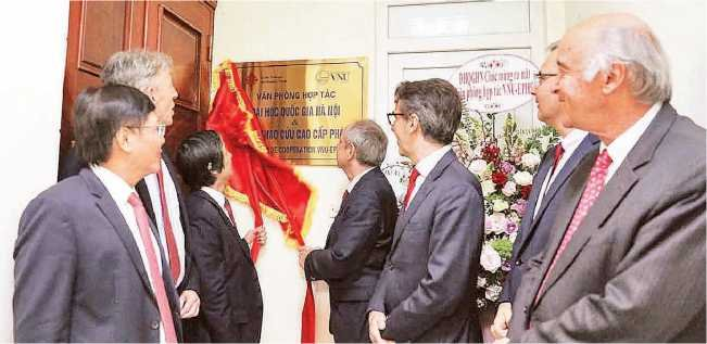 The launch of the Vietnamica project office at the Vietnam National University
