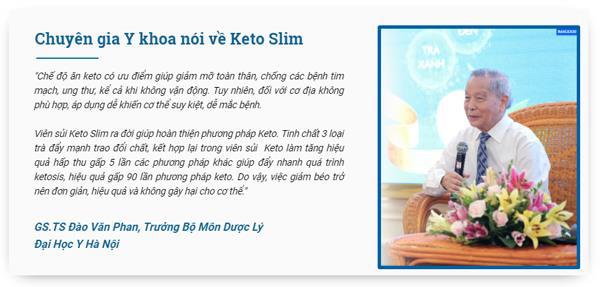 Giảm cân an toàn, hiệu quả cùng sản phẩm TPBVSK Keto Slim - Ảnh 5.