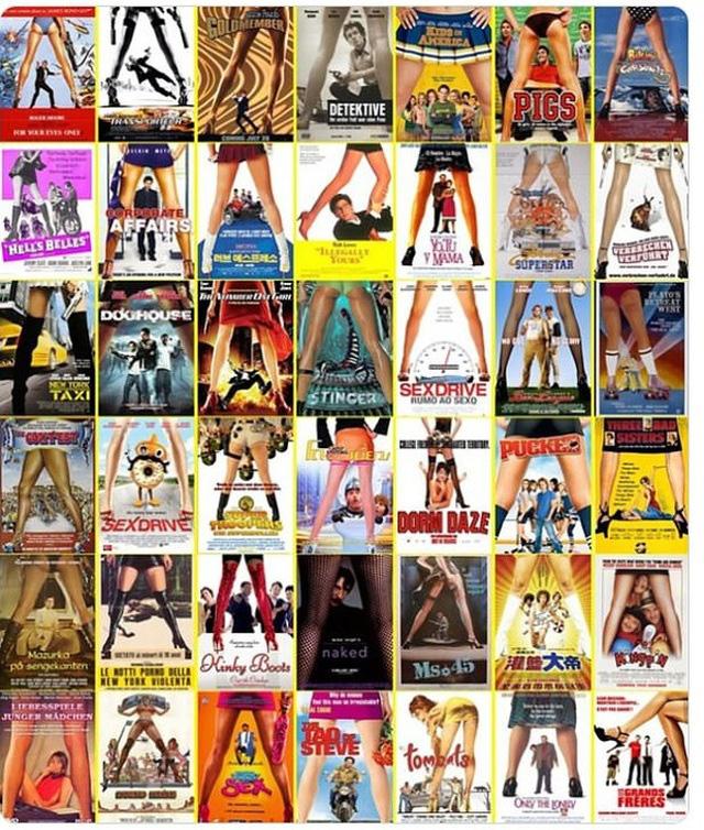 """13 dạng poster """"siêu kinh điển"""" của điện ảnh - Ảnh 2."""