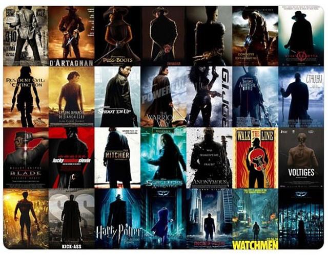 """13 dạng poster """"siêu kinh điển"""" của điện ảnh - Ảnh 5."""