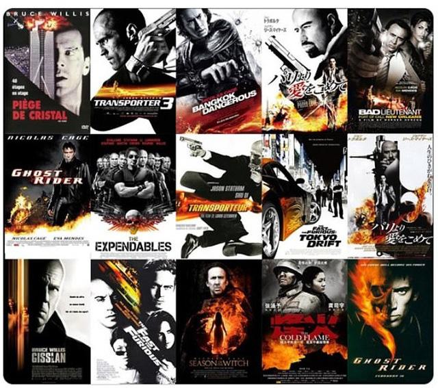 """13 dạng poster """"siêu kinh điển"""" của điện ảnh - Ảnh 7."""