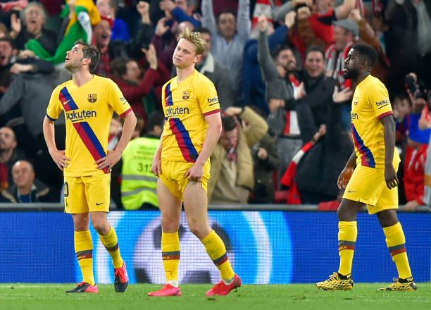 Tứ kết Cúp Nhà vua Tây Ban Nha, Athletic Bilbao 1-0 Barcelona: Messi và đồng đội chia tay Cúp Nhà vua - Ảnh 3.