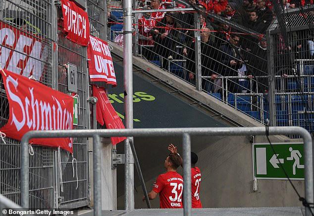 Bayern Munich thắng đậm Hoffenheim trong trận đấu 77 phút - Ảnh 4.