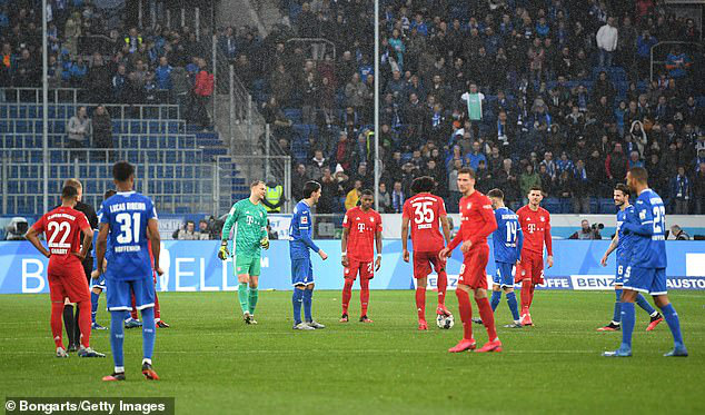 Bayern Munich thắng đậm Hoffenheim trong trận đấu 77 phút - Ảnh 6.