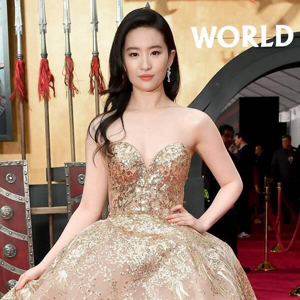 """Lưu Diệc Phi lộng lẫy hóa công chúa trong buổi công chiếu """"Hoa Mộc Lan"""" - Ảnh 1."""