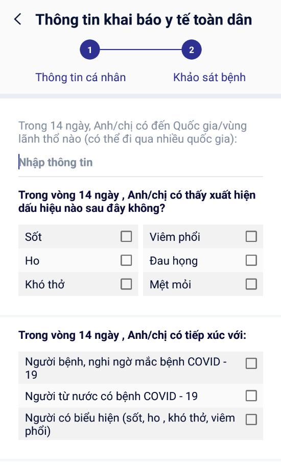 Hướng dẫn 10 bước khai báo y tế toàn dân qua app NCOVI trên di động - Ảnh 8.