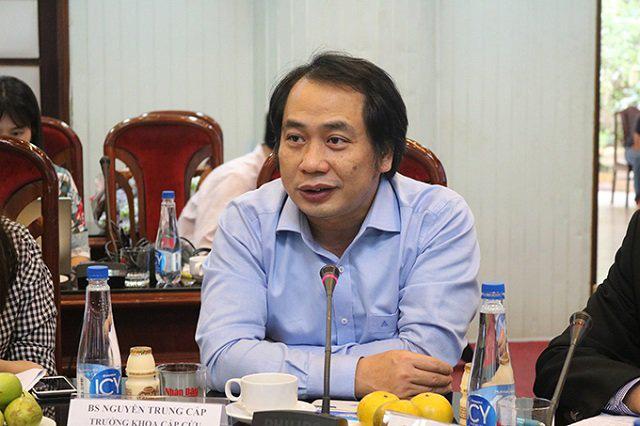 Doctor Nguyen Trung Cap.