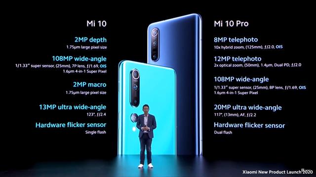 Xiaomi ra mắt 3 phiên bản Mi 10 quốc tế, camera 108 MP, có 5G - ảnh 1