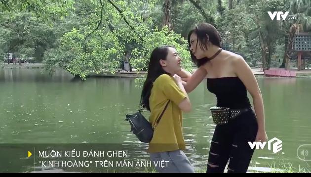 Muôn kiểu đánh ghen trong phim Việt - Ảnh 1.
