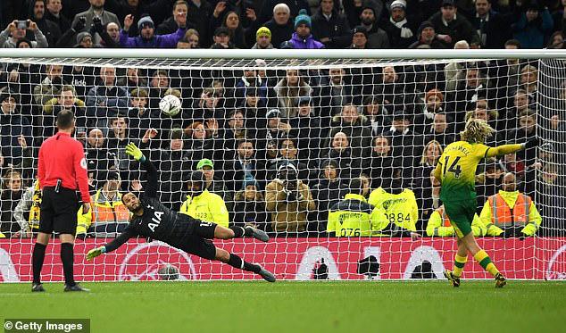 Tottenham 1-1 (pen: 2-3) Norwich City: Tottenham dừng bước tại FA Cup sau loạt luân lưu - Ảnh 4.