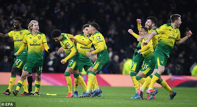 Tottenham 1-1 (pen: 2-3) Norwich City: Tottenham dừng bước tại FA Cup sau loạt luân lưu - Ảnh 5.