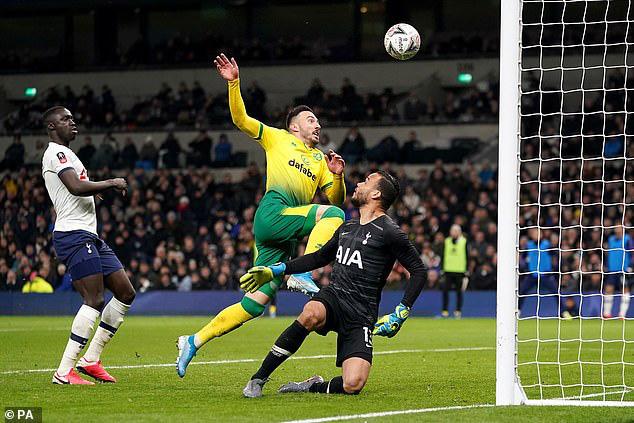 Tottenham 1-1 (pen: 2-3) Norwich City: Tottenham dừng bước tại FA Cup sau loạt luân lưu - Ảnh 3.